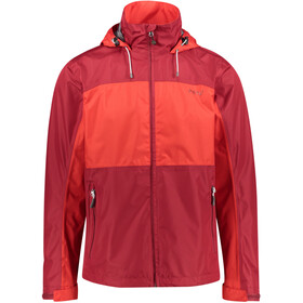 Meru Chios Waterproof 2 Layer Jacket Herren rhubarb